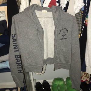 Brandy Melville St Barth crop sweater